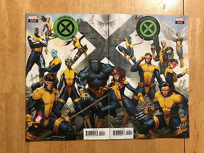 House of X 4 & Powers of X 4 Molina connecting variant NM set Marvel Comics 2019