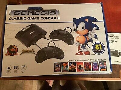 New in Box Sega Genesis Classic Game Console with 81 Built in  Video Games