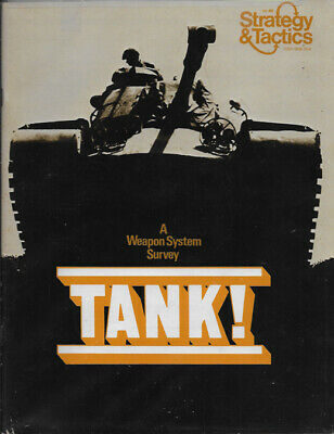 S&T 44 Tank! - Unpunched - Strategy and Tactics - SPI