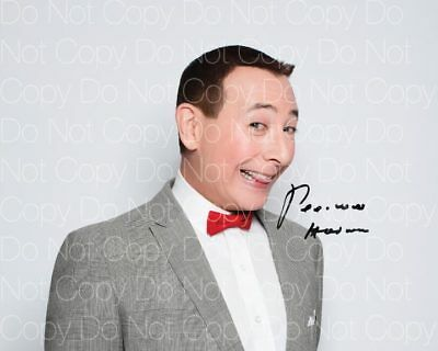 PeeWee Herman signed Pee Wee's Playhouse 8X10 photo picture poster autograph