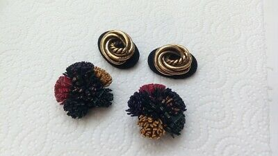 Two (2) Pairs Of Vintage Shoe Clips