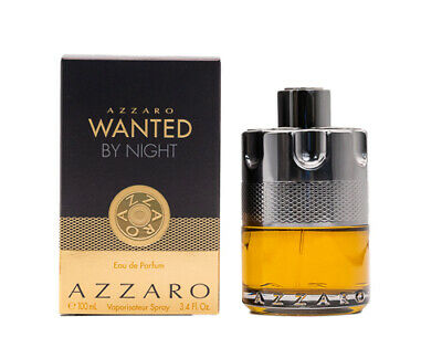 Azzaro Wanted by Night by Azzaro 3.4 oz EDP Cologne for Men New In Box