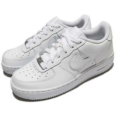 Nike Air Force 1 GS OG Triple White AF1 Kid Youth Women Shoes Sneaker 314192-117