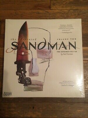 THE ANNOTATED SANDMAN VOL 2 HC Neil Gaimen Vertigo HC NEW SEALED