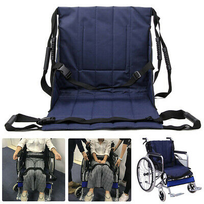 Patient Lift Stair Slide Board Transfer Belt Durable Wheelchair Seat Pad Boards