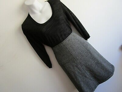 Max Mara Wool  Skirt & Country Road Top  --Size 8