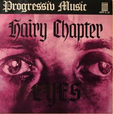 HAIRY CHAPTER - Eyes - LP 1971 Krautrock Second Battle