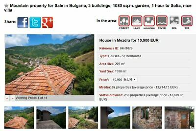 Cheap properties in Bulgaria, 500 Euro each month, NO COMMISSION until 30th Sept