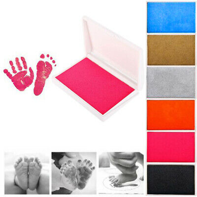 Inkless Wipe Hand Foot Print Newborn Baby Imprint Touch Ink Pad Christening Gift