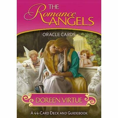Romance Angel Oracle Cards Doreen Virtue Japanese Guide Book w/ Tracking# New