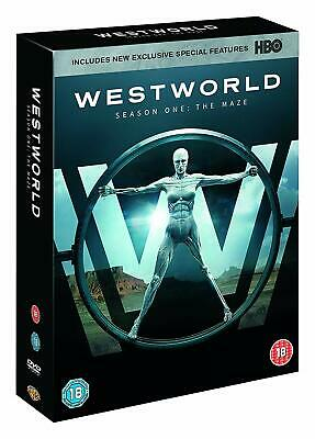 WESTWORLD Complete Season 1 The Maze (DVD, 2017, 3-Disc Box Set & Download) HBO