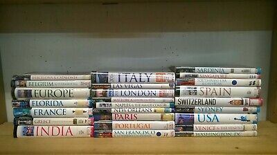 Eyewitness Travel Guides: job lot box of 24 books & 1 Switzerland Insight Guide