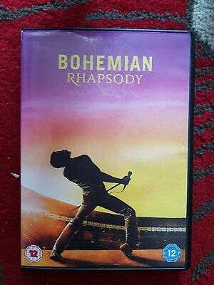 Bohemian Rhapsody - Queen (DVD 2019)