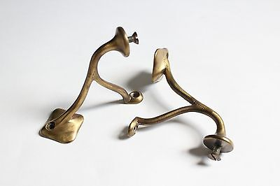 antique bathroom shelf brackets | san o la brass victorian bath art deco vtg