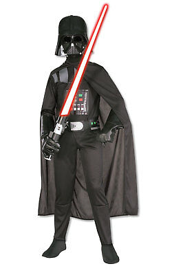 Kids Boys Childs Darth Vader Fancy Dress Costume Outfit star wars halloween