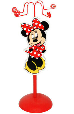 """Jewellery Tree Made of Wood - for Chains + Braceletts - """" Disney Minnie Mouse """""""