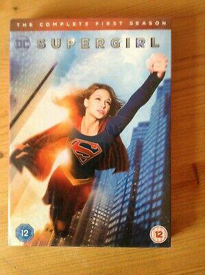 DC Supergirl season 1 box set unplayed region 2 dvd