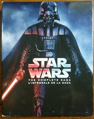 Star Wars: The Complete Saga (Blu-ray Disc, 2015, 9-Disc Set)