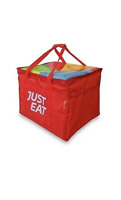 Just Eat New Delivery Bag And Jacket