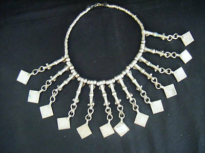 Old Chinese Silver Neck Piece  Orientalia Tribal Asian