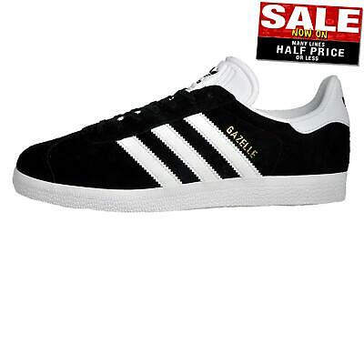Adidas Originals Gazelle Men's Casual Classic Retro Trainers Black