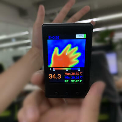 Thermal Imager Handheld Thermograph Camera Infrared Temperature Sensor Digital