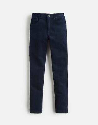 Joules Boys Jett Cord 5 Pocket Trouser 3 12Yr in FRENCH NAVY Size 9yrin10yr
