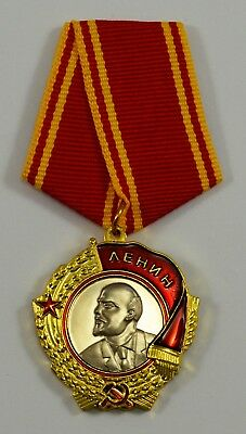 Order of Lenin Russian/Soviet/USSR/Military Service Medal. Highest Decoration