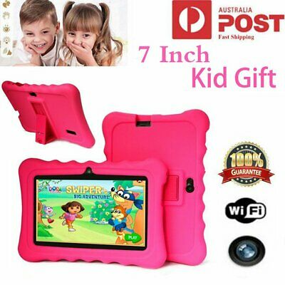 7'' Tablet PC Quad Core 8GB HD Android 4.4 Camera WiFi for Education Kids Gift