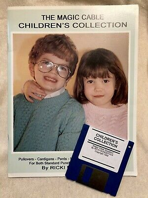 Magic Cable Children's Collection Knitting machine Ricki Mundstock Patterns book