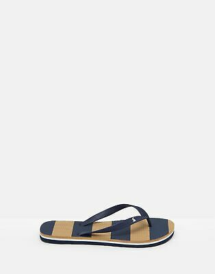 Joules 204701 Flip Flops in FRENCH NAVY Size Adult 10