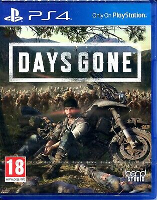 Ps4 Sony Playstation Days Gone *New & Sealed*