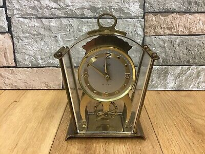 Vintage Schatz & Sohne(59) 8 Day Mantle Clock For Spares Or Repair