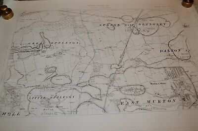 GEOLOGICAL ORDNANCE SURVEY MAPS. of  AREAS AROUND DURHAM  DATED 1898