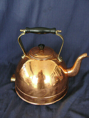 ANTIQUE COPPER CREDA Electric Tea Kettle Made in England