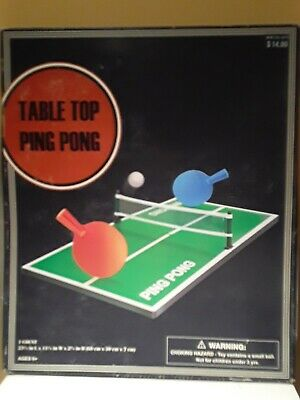 Emerson Tabletop Ping Pong Game Set