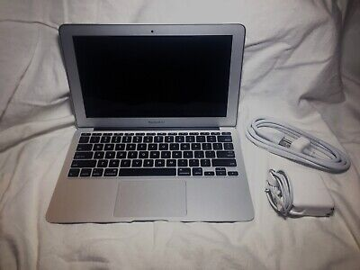 "Laptop Apple Macbook Air 4,1 11"" i5 1.6GHz 2GB 64GB SSD OS X LOW CYCLES"