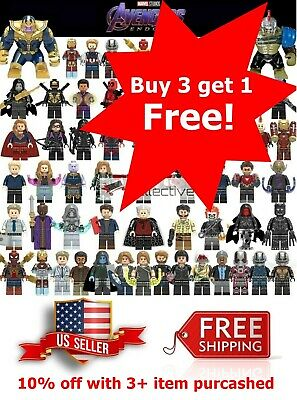 Avengers Minifigure Fits Lego Building Blocks End Game Iron Man Captain America