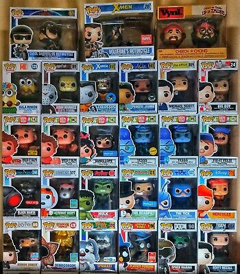 A Phantom Collection Of Funko Pop!s - Exclusive - Chase - GITD - List Included