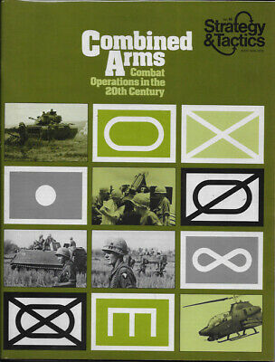 S&T 46 Combined Arms: Combat Operations - Unpunched - Strategy & Tactics - SPI