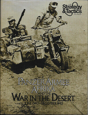 S&T 40 Panzer Armee Afrika - Unpunched - Strategy and Tactics - SPI