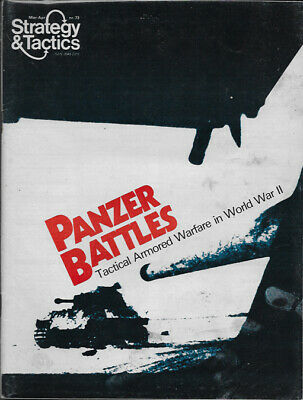 S&T 73 Panzer Battles: Armored Warfare in WWII - Unpunched - Strategy & Tactics