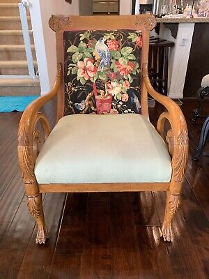 Pair of Meyer Gunther Martini Vintage Carved Chairs (Price per chair)