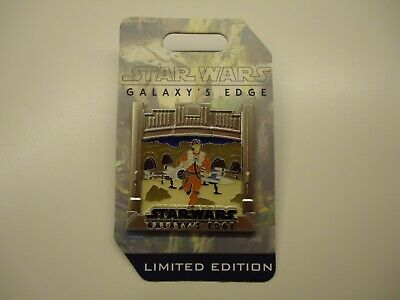 Disney Parks Star Wars Galaxy's Edge Countdown X-Wing Fighter Pilot Pin LE3500