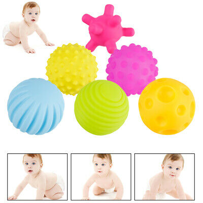 6 X Ball Pit Balls Play Kids Plastic Baby Ocean Soft Toy Colourful Playpen Fun