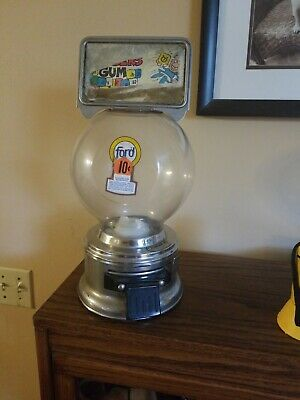 Vintage FORD 10 Cent GUMBALL MACHINE Original  Collectors Piece