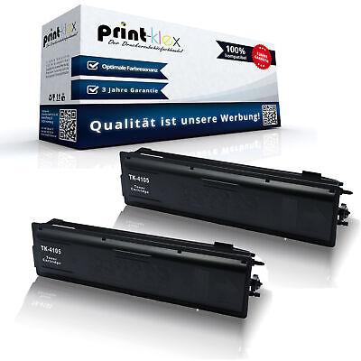 2x Alternativo Cartucce Toner per Kyocera TK4105 Cassetta XL-OFFICE Plus Serie