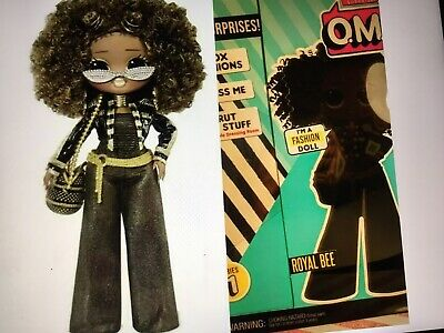 Brand New Sealed In Box Lol Surprise Omg Royal Bee Doll Big Sister In Hand