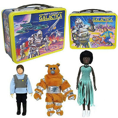 Battlestar Galactica Convention Lunch Box & Figures Limited Edition