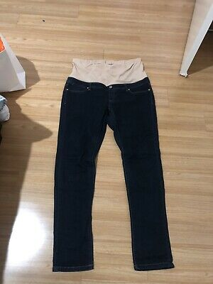 Jeanswest Blue Maternity Jeans Size 16 Long
